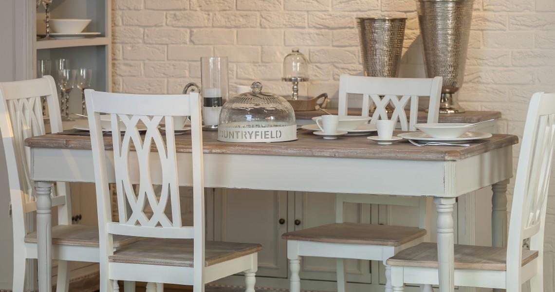 stół + krzesła aluro