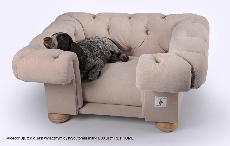 Ekskluzywne legowiska dla psów  marki LUXURY PET HOME