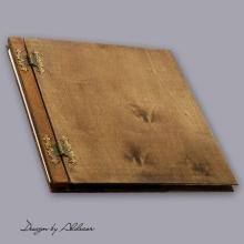 album drewniany CLASSIC duży 25 kart