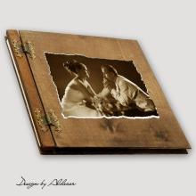 album drewniany CLASSIC duży 25 kart ze zdjęcie klienta
