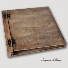 album drewniany DUO duży 50 kart
