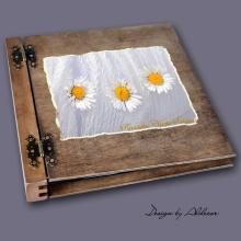 album drewniany DUO duży 50 kart motyw chrzest 3