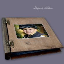 album drewniany MODENA duży 75 kart ZDJĘCIE KLIENTA