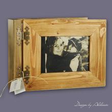 album drewniany EXCLUSIV średni 50 kart ZE ZDJĘCIEM KLIENTA