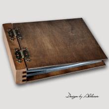 album drewniany MODENA  standard 75 kart