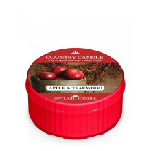 Country Candle - Apple & Teakwood - Daylight (35g)