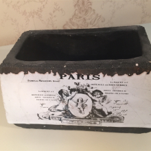 doniczka PARIS standard prostokąt