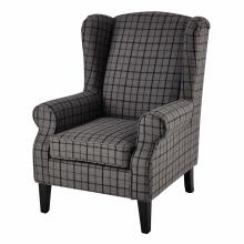 Fotel w szkocką kratę