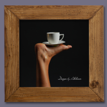 grafika z motywem kawy 2 - motyw 1