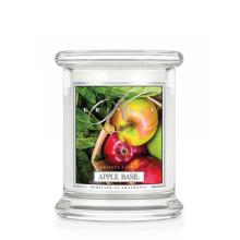 Kringle Candle - Apple Basil - mały, klasyczny słoik (240g)