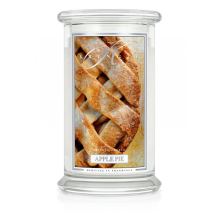 Kringle Candle - Apple Pie - duży, klasyczny słoik (623g) z 2 knotami