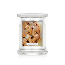 Kringle Candle - Apple Pie - średni, klasyczny słoik (454g) z 2 knotami