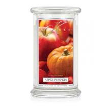 Kringle Candle - Apple Pumpkin - duży, klasyczny słoik (623g) z 2 knotami
