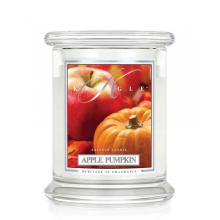 Kringle Candle - Apple Pumpkin - średni, klasyczny słoik (454g) z 2 knotami