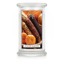 Kringle Candle - Autumn Harvest - duży, klasyczny słoik (623g) z 2 knotami