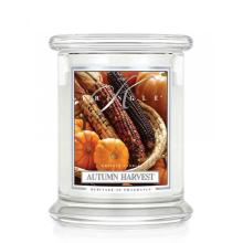 Kringle Candle - Autumn Harvest - średni, klasyczny słoik (454g) z 2 knotami