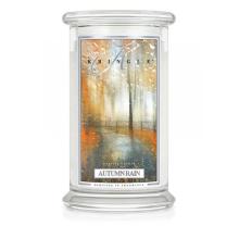Kringle Candle - Autumn Rain - duży, klasyczny słoik (623g) z 2 knotami
