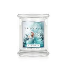 Kringle Candle - Blue Spruce - średni, klasyczny słoik (454g) z 2 knotami
