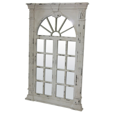 lustro (okno) białe retro 90306 art