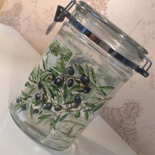 Pojemnik szklany na oliwki