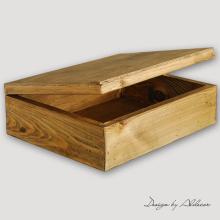 skrzynia drewniana do albumów - wys. 120 mm
