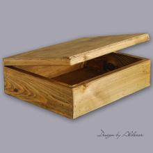 skrzynia drewniana średnia do albumów - wys. 120 mm