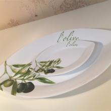 Talerze oliwka