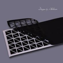 trójkąciki samoprzylepne czarne