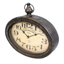 Zegar retro - metalowy 77188 art