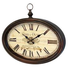 Zegar retro - metalowy 77193 art