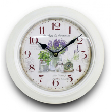 Zegar retro - metalowy 93343 art